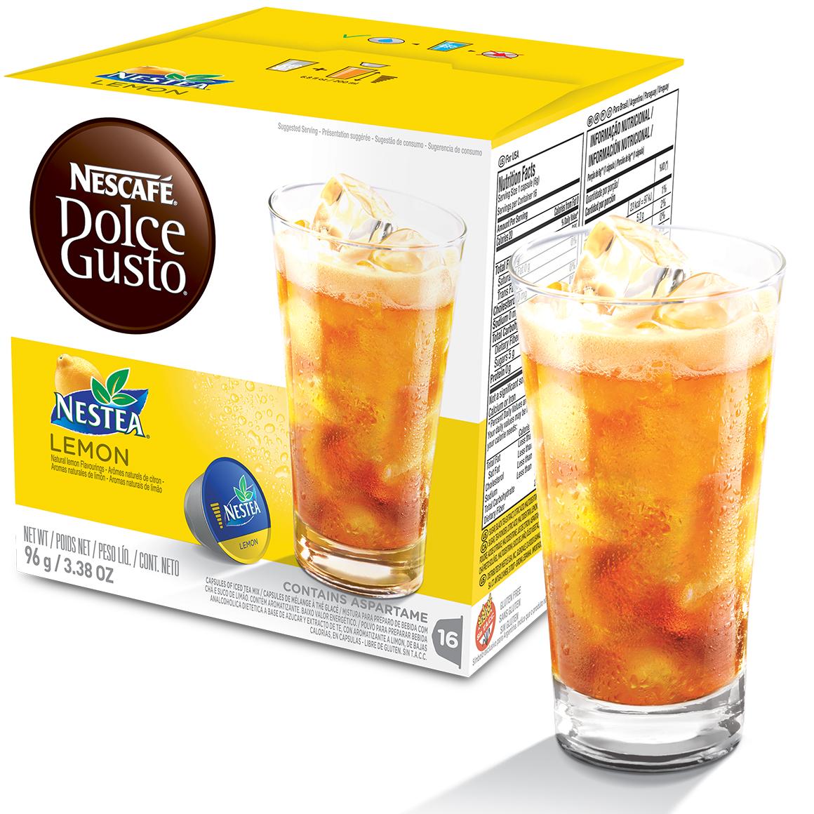Cápsula Nescafé Dolce Gusto Nestea Lemon 16 Cápsulas - Nestlé
