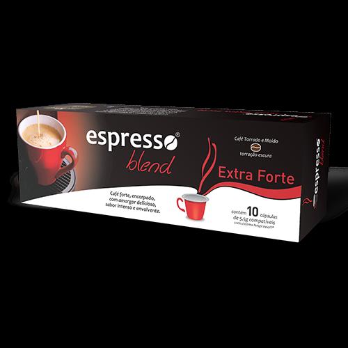 Cápsulas de Café Espresso Blend Extraforte - Compatíveis com...