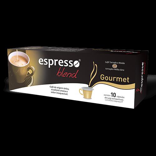 Cápsulas de Café Espresso Blend Gourmet - Compatíveis com...