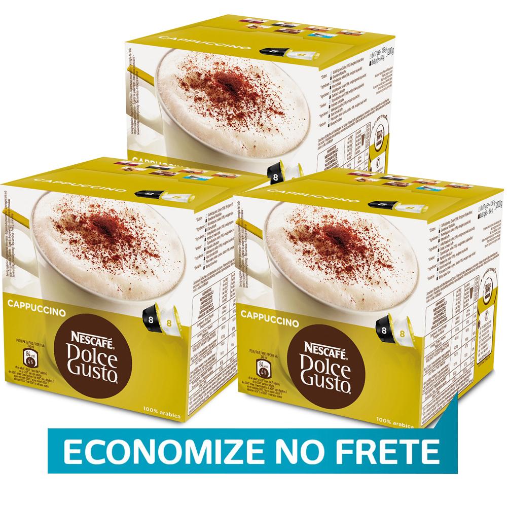 Kit 48 Cápsulas Nescafé Dolce Gusto Cappuccino - Nestlé