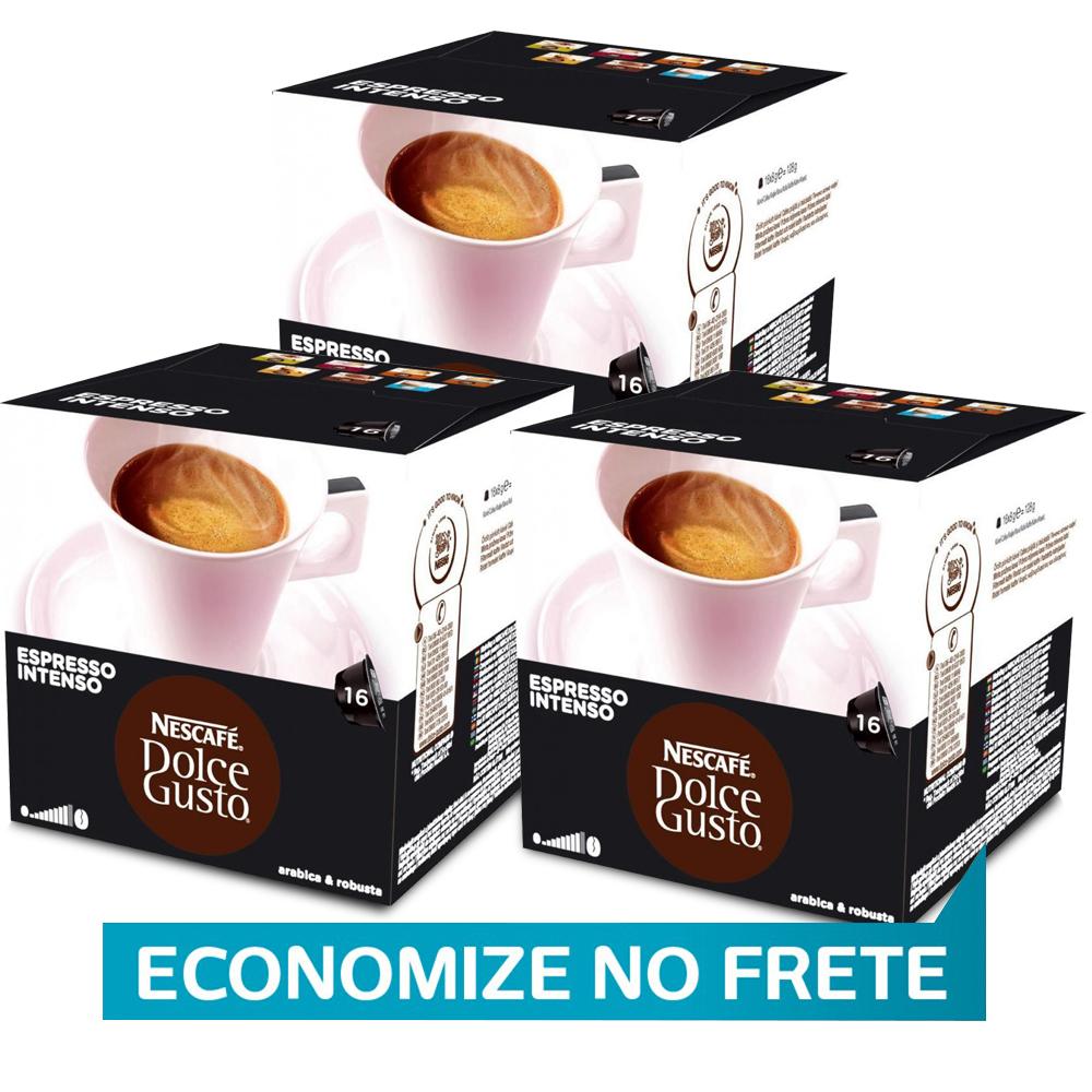 Kit 48 Cápsulas Nescafé Dolce Gusto Espresso Intenso - Nestlé