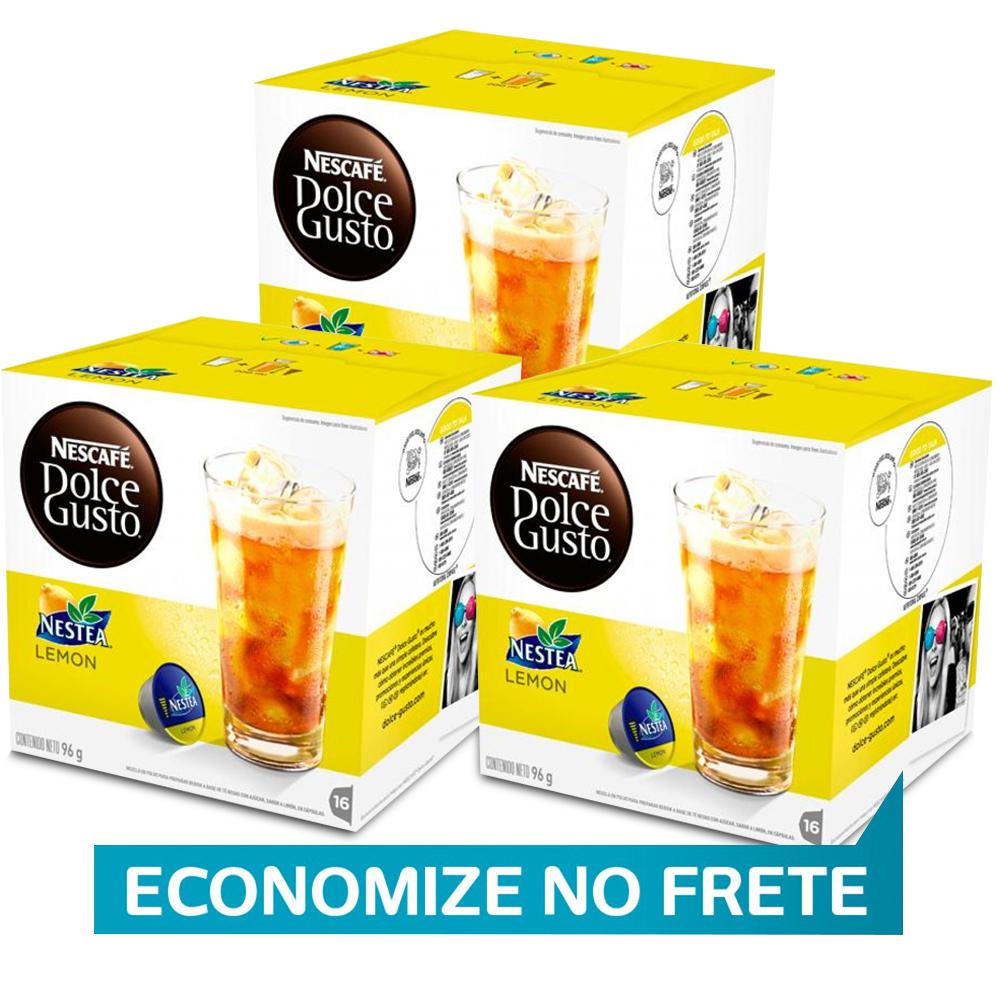 Kit 48 Cápsulas Nescafé Dolce Gusto Nestea Limão - Nestlé