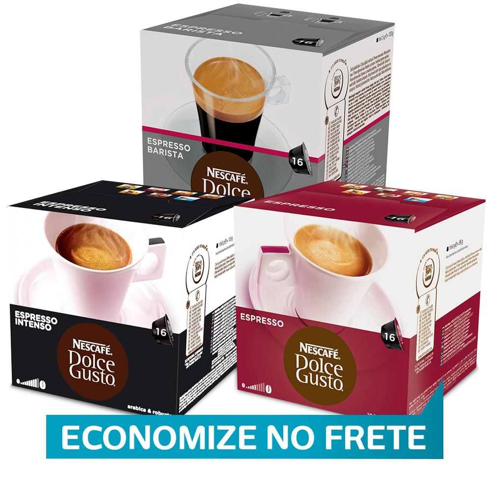 Kit 48 Cápsulas Nescafé Dolce Gusto Espressos - Nestlé
