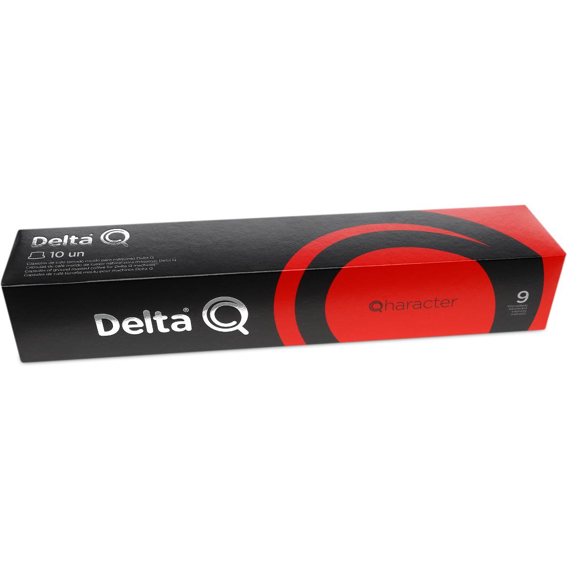Cápsula de Café Delta Q Qharacter Intensidade 9 - 10 Cápsulas
