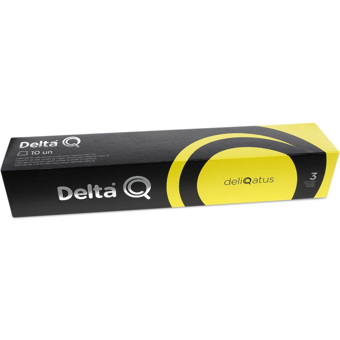 Cápsula de Café Delta Q Deliqatus Intensidade 3 - 10 Cápsulas