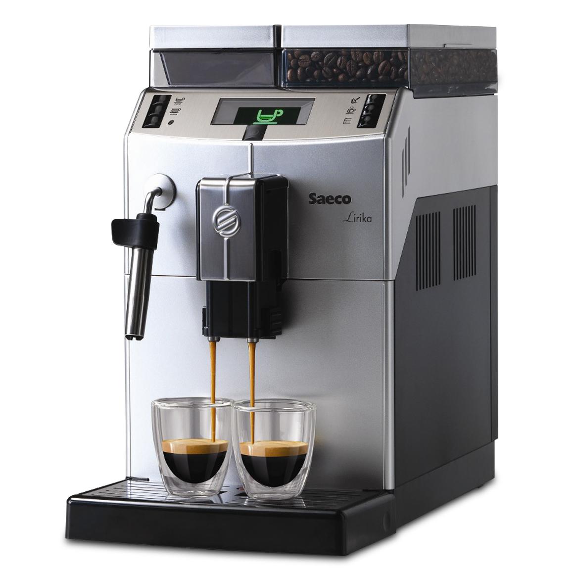 Máquina de Café Saeco Lirika Plus Silver/Black 220v