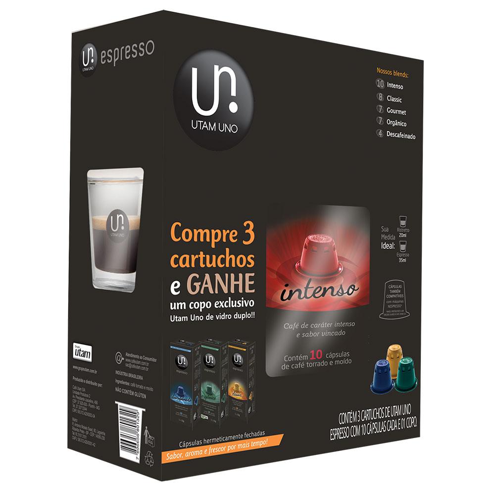 Kit Cápsulas de Café Utam Uno Ganhe Xícara Exclusivo -...