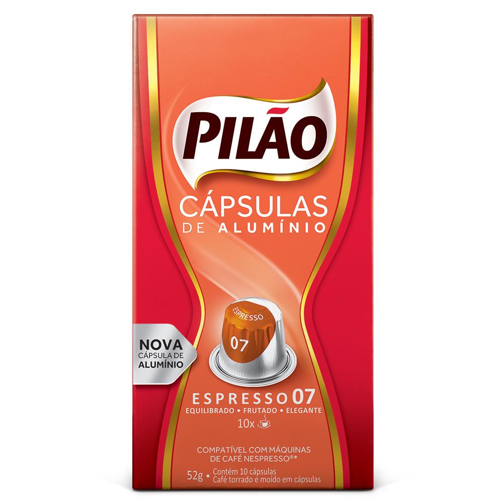 Cápsulas de Café Pilão Espresso 07 - Compatíveis com...