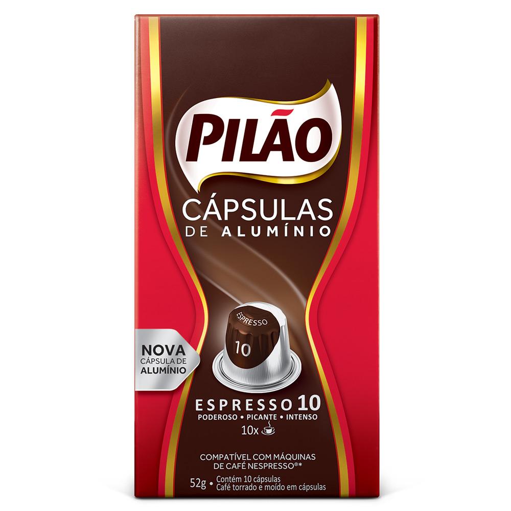 Cápsulas de Café Pilão Espresso 10 - Compatíveis com...