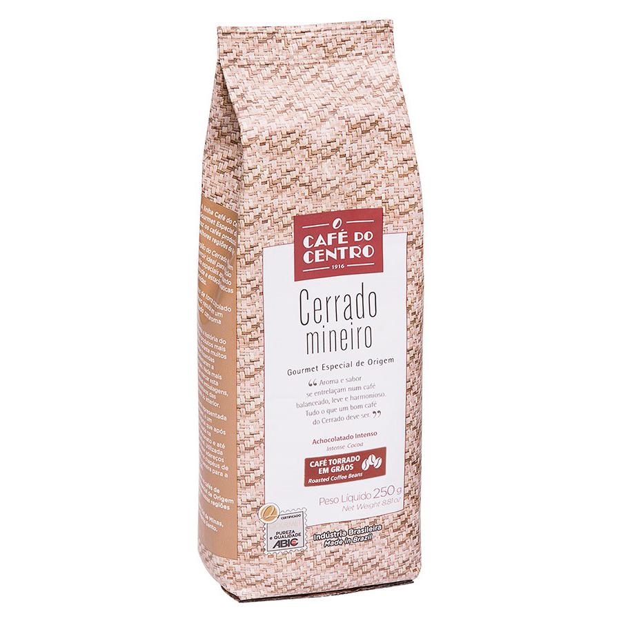Café em Grãos Cerrado Mineiro Café do Centro 250 gr