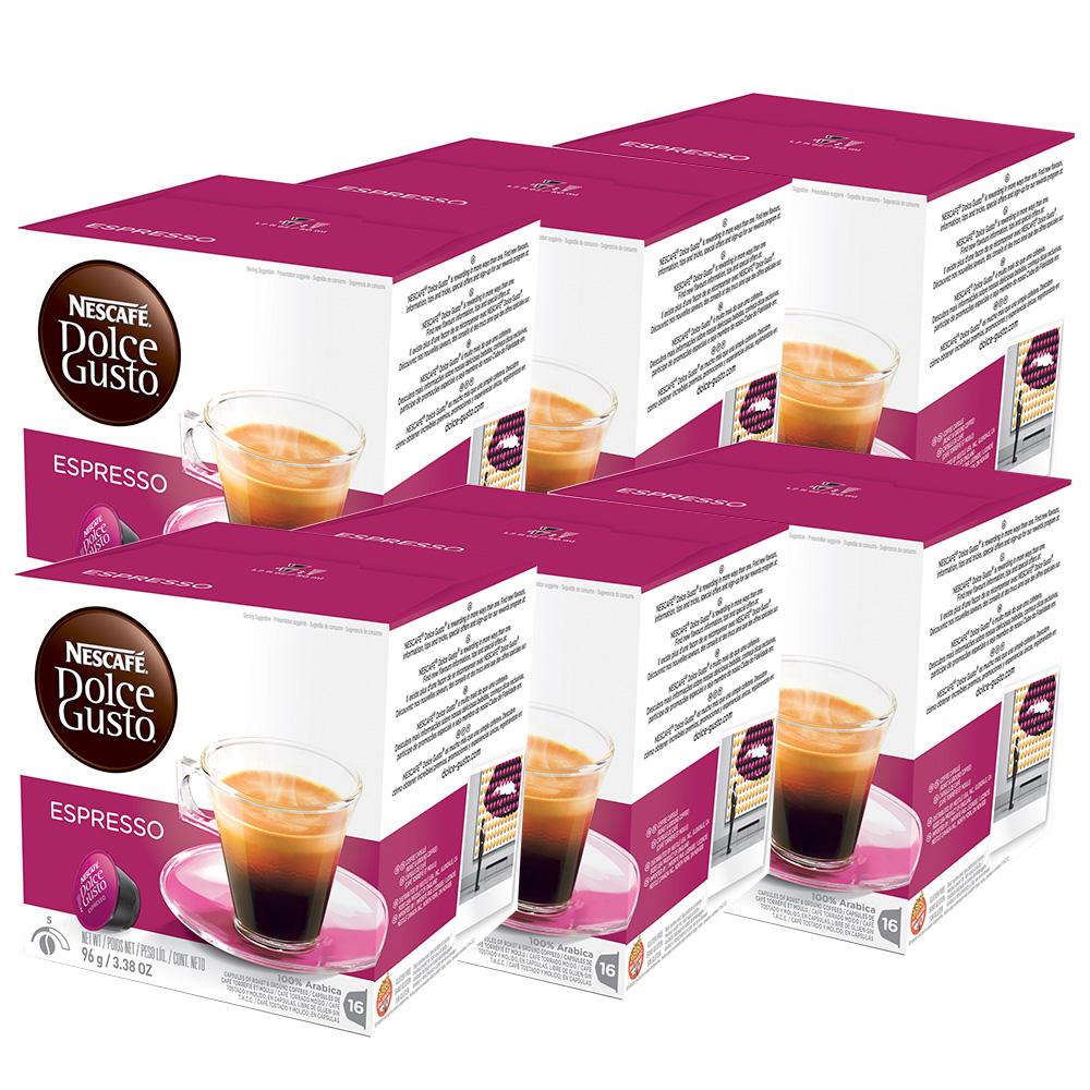 Kit 96 Cápsulas Nescafé Dolce Gusto Espresso - Nestlé