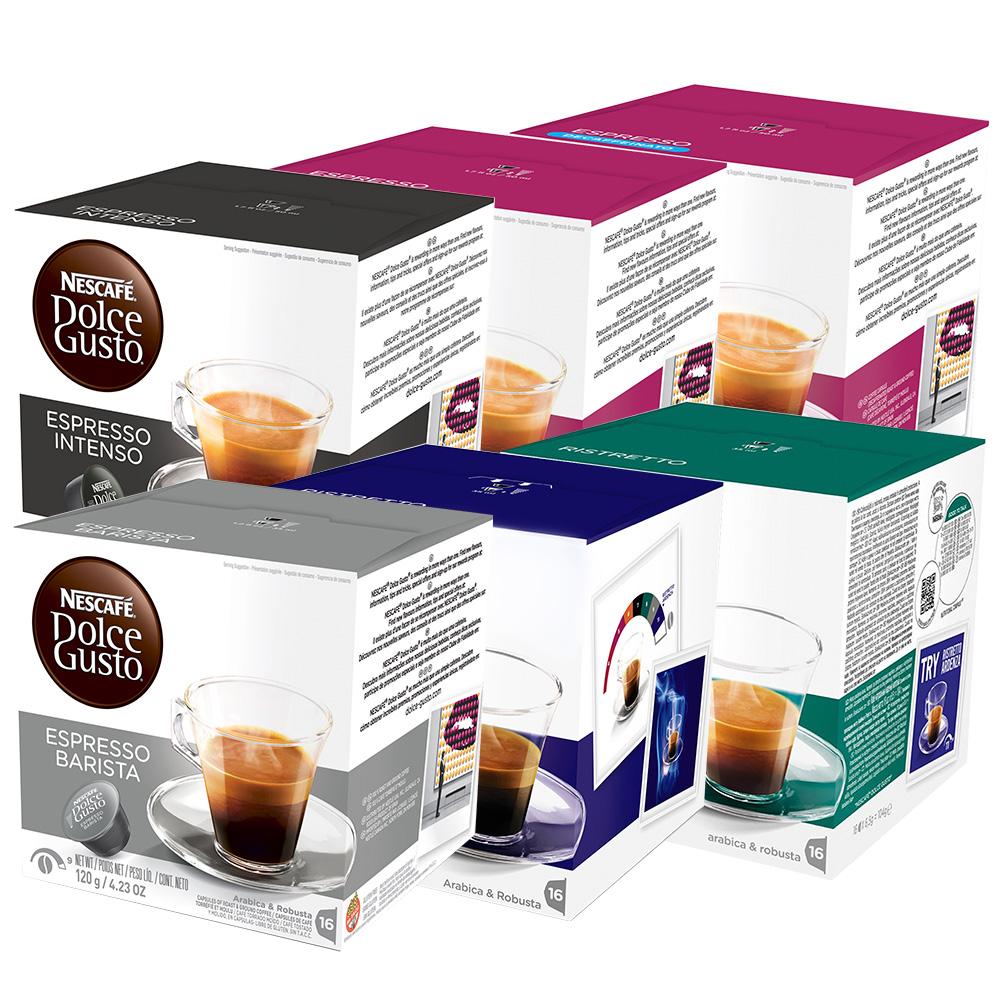 Kit 96 Cápsulas Nescafé Dolce Gusto Espressos - Nestlé