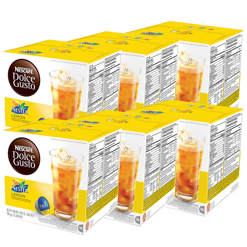 Kit 96 Cápsulas Nescafé Dolce Gusto Nestea Limão - Nestlé