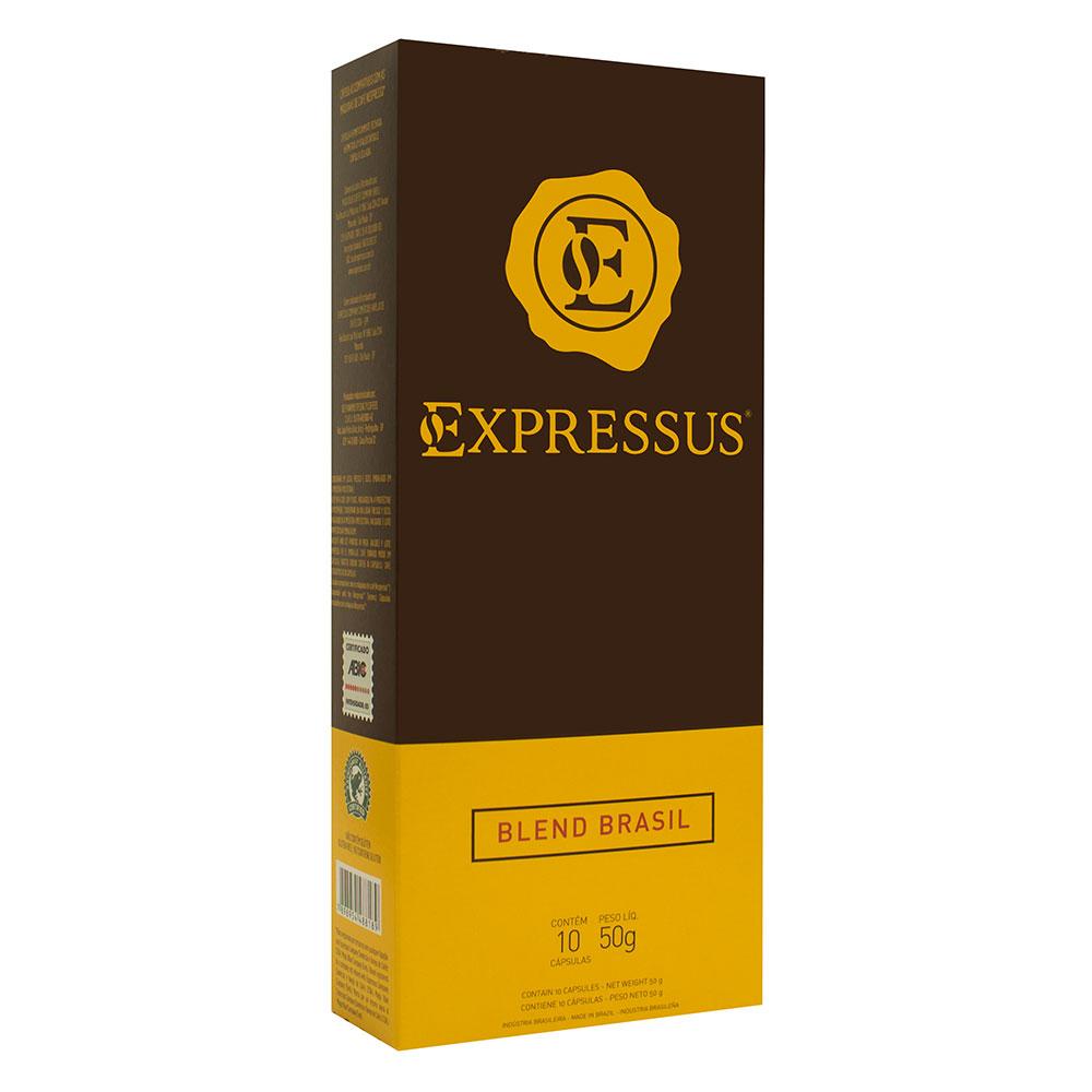 Cápsulas de Café Expressus Origens Brasileiras Blend Brasil