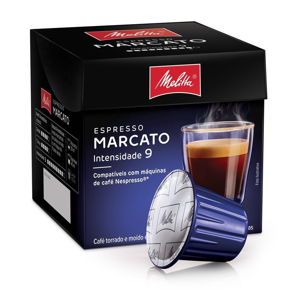 Cápsulas de Café Espresso Melitta Marcato - Compatíveis com...
