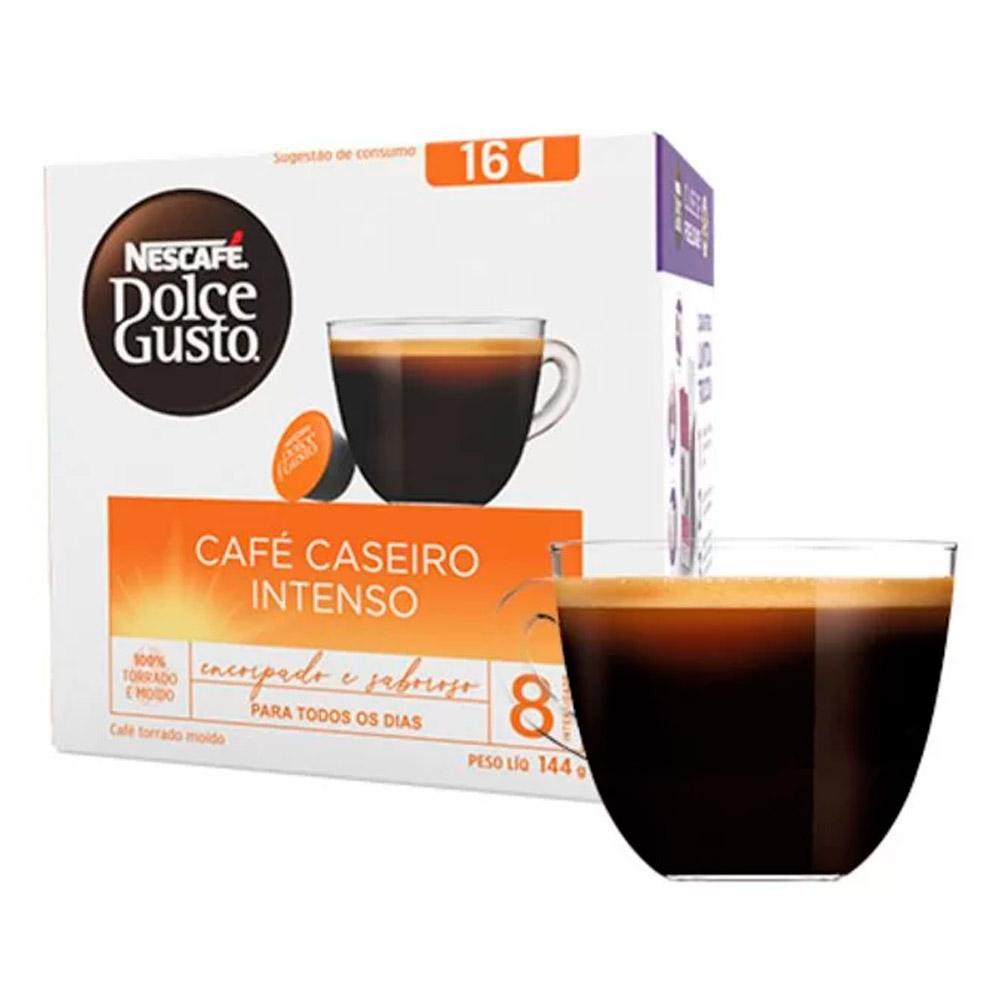 Cápsula Nescafé Dolce Gusto Café Caseiro Intenso16 Cápsulas -...
