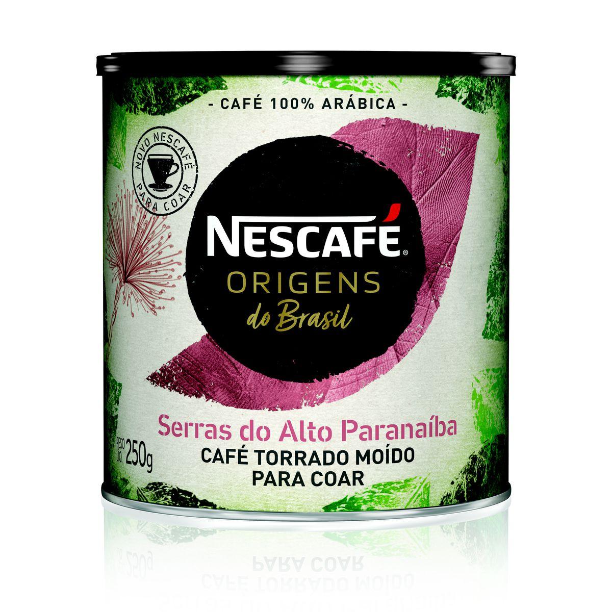 Café Torrado e Moído NESCAFÉ Origens Serras do Alto Paranaíba 250g