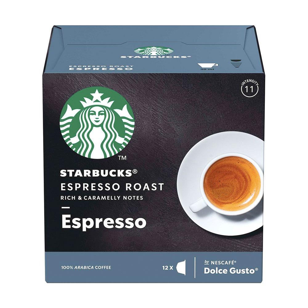 Cápsulas Nescafé Dolce Gusto Starbucks Espresso Roast 12un. -...
