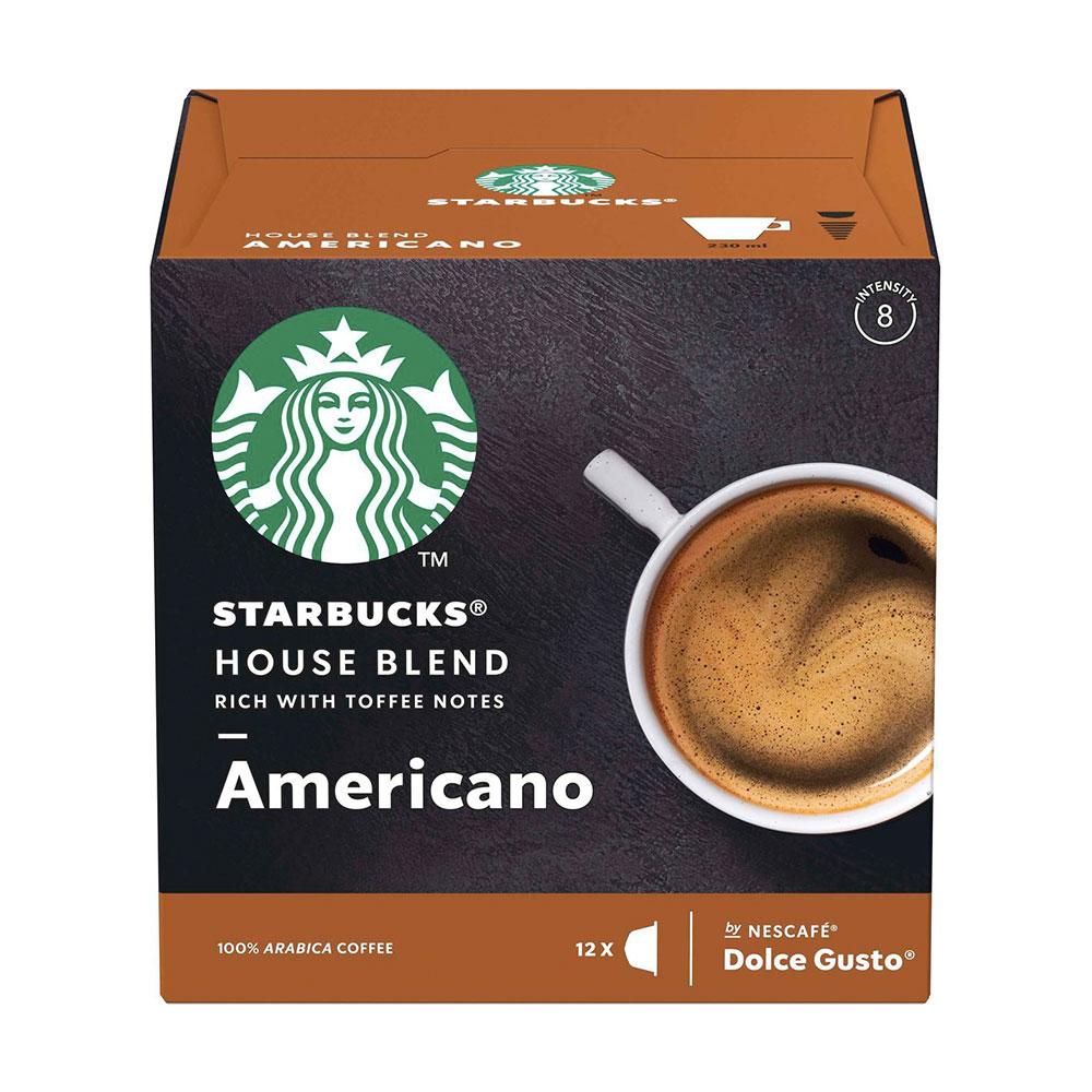 Cápsulas Nescafé Dolce Gusto Starbucks House Blend Americano...