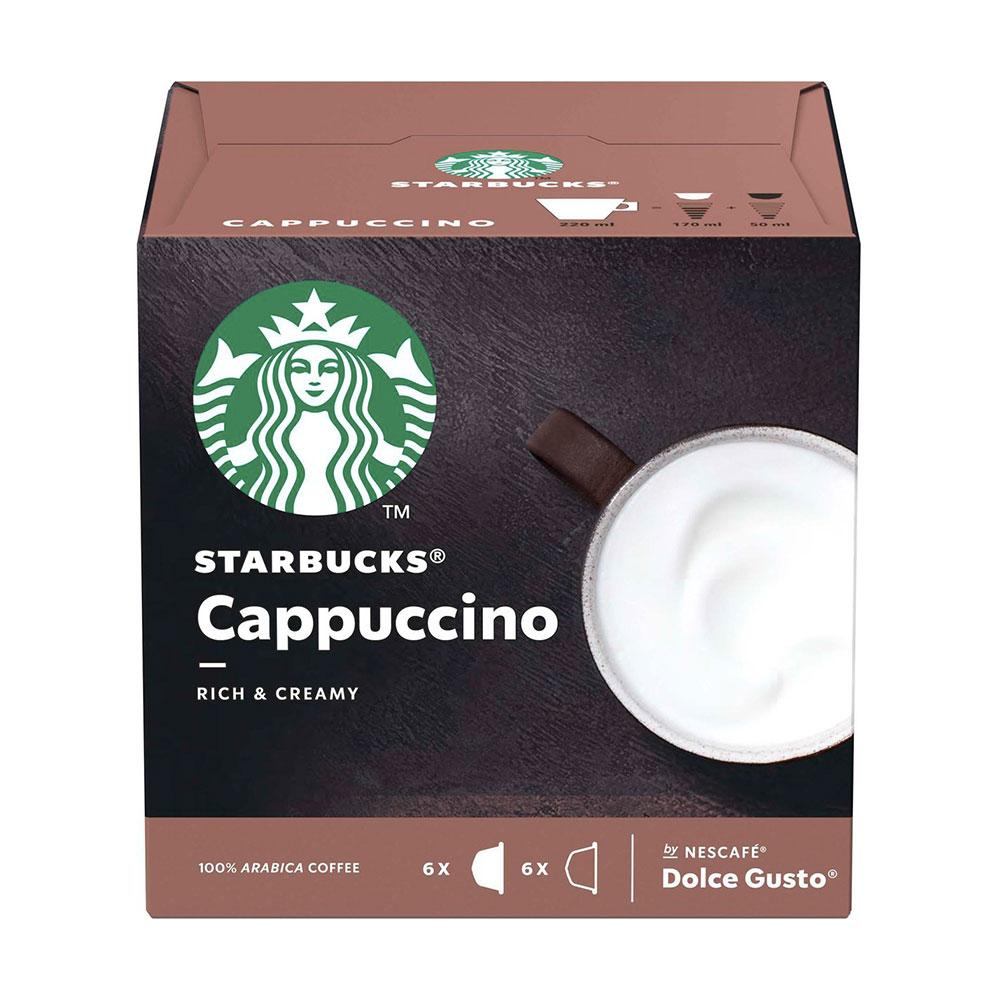 Cápsulas Nescafé Dolce Gusto Starbucks Cappuccino 12un. - Nestlé