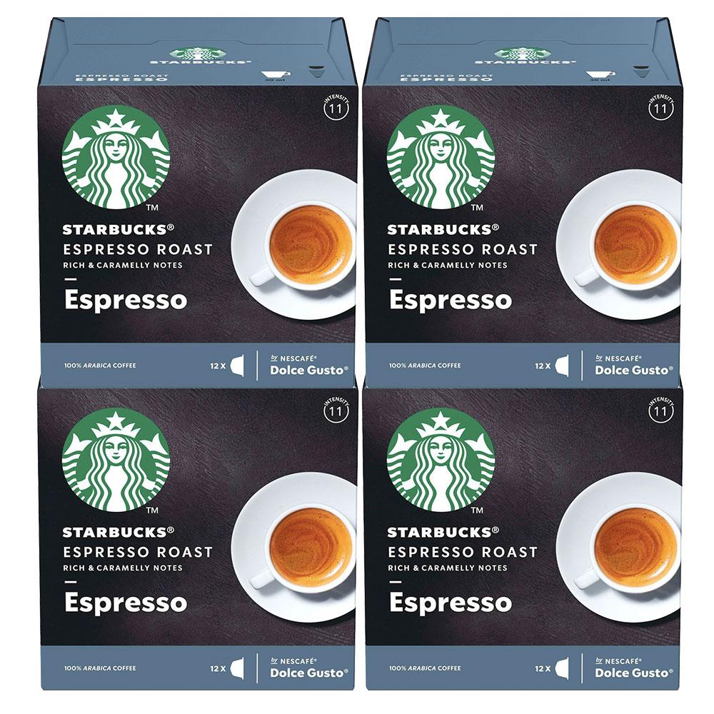 Kit 48 Cápsulas Nescafé Dolce Gusto Starbucks Espresso Roast -...