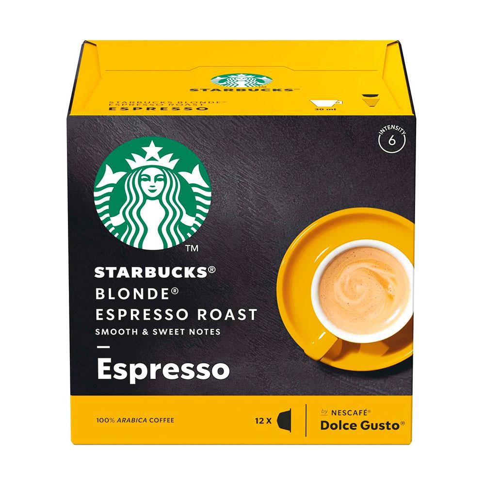 Cápsulas Nescafé Dolce Gusto Starbucks Blonde Espresso Roast...