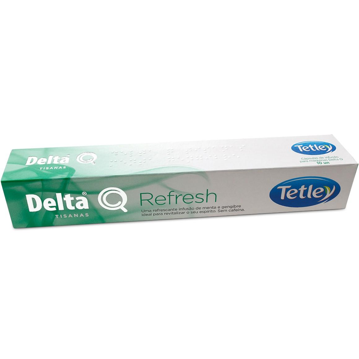 Cápsula de Chá Delta Q Refresh - 10 Cápsulas