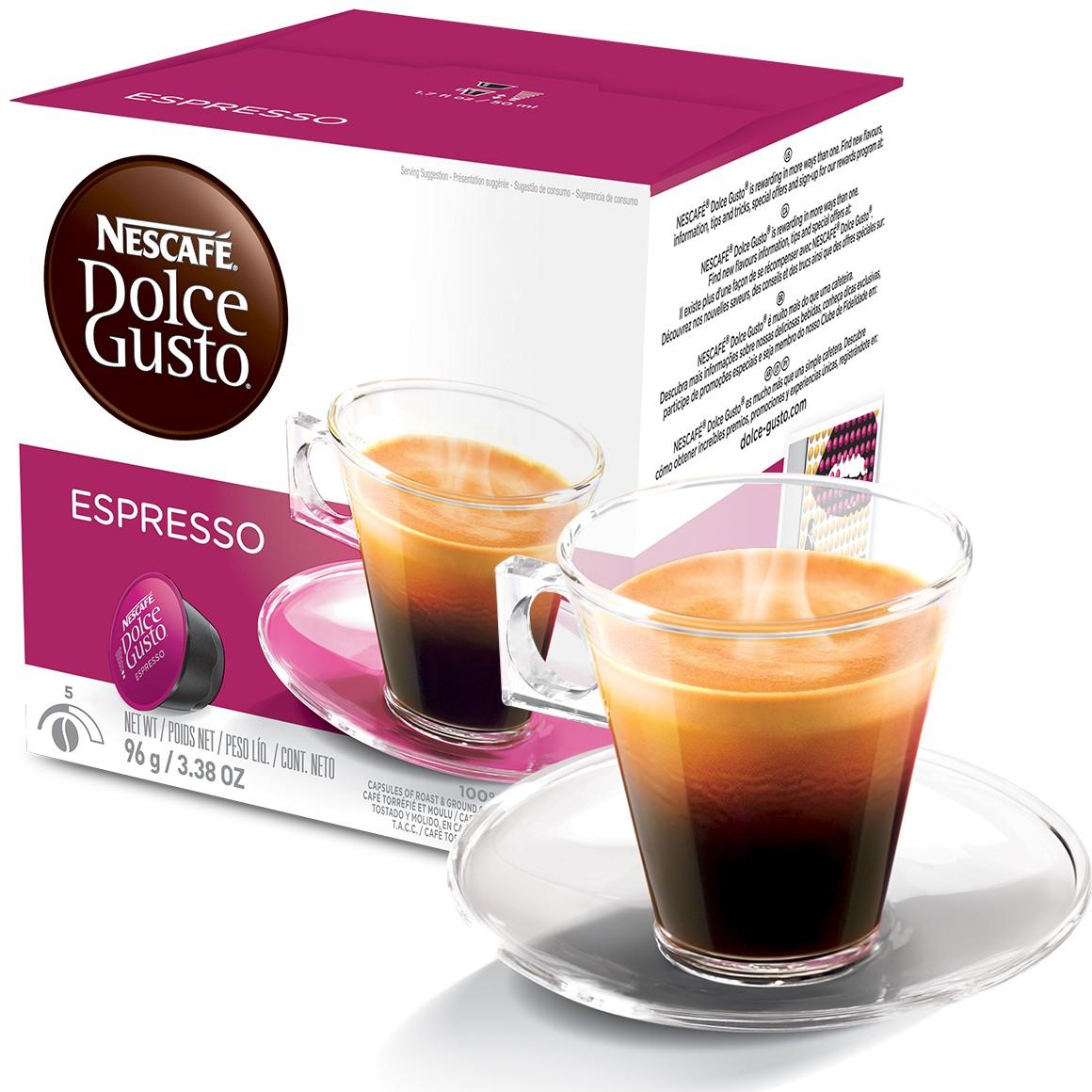 Cápsula Nescafé Dolce Gusto Café Espresso 16 Cápsulas - Nestlé