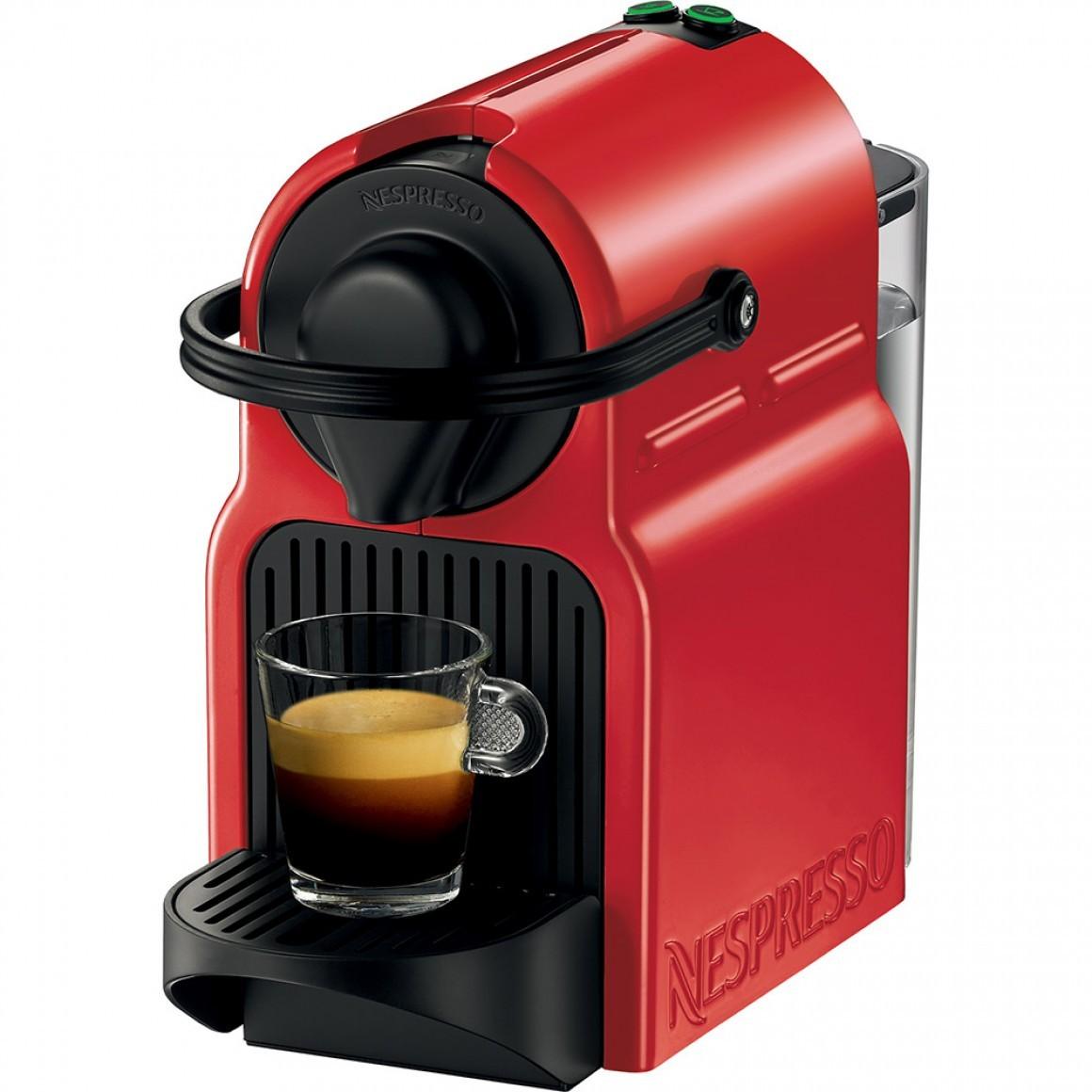 Cafeteira Expresso Nespresso Inissia Ruby Red