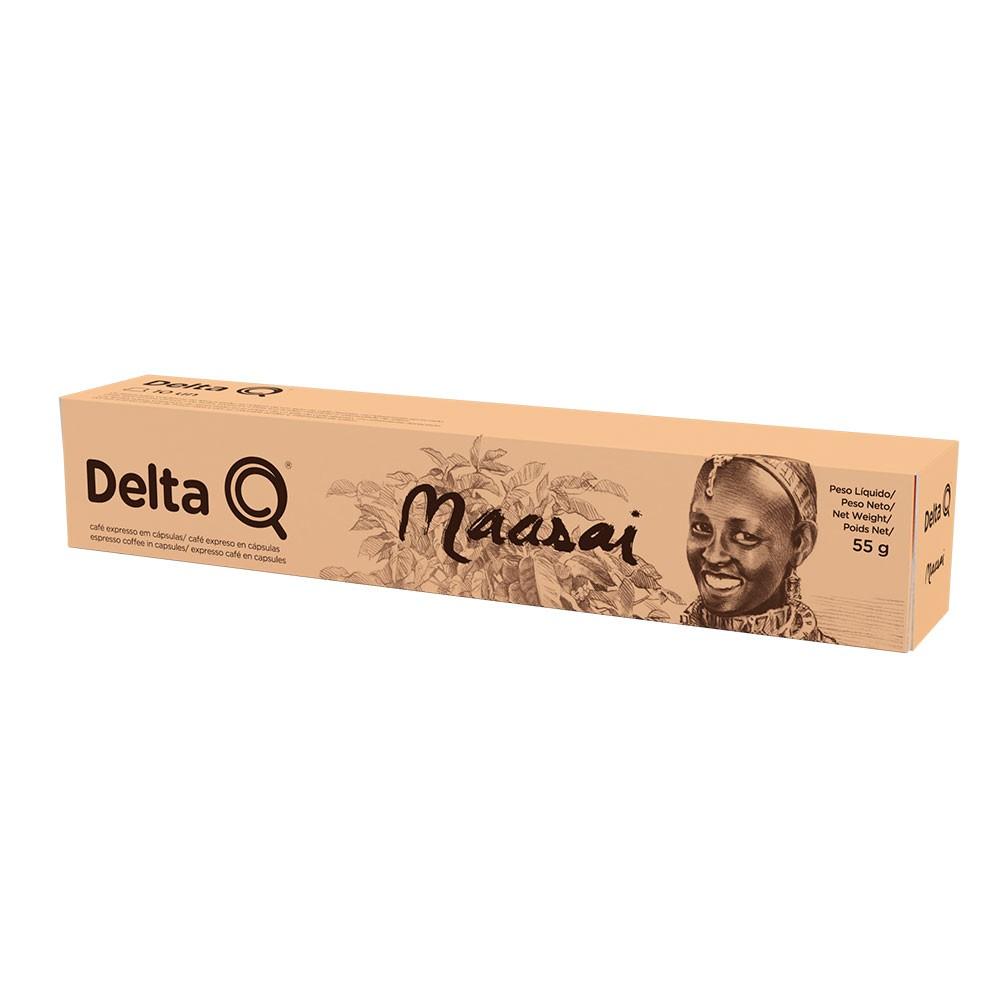 Cápsula de Café Delta Q Maasai - 10 Cápsulas