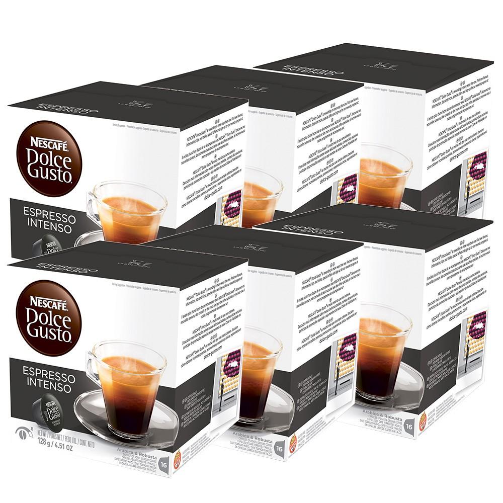 Kit 96 Cápsulas Nescafé Dolce Gusto Espresso Intenso - Nestlé