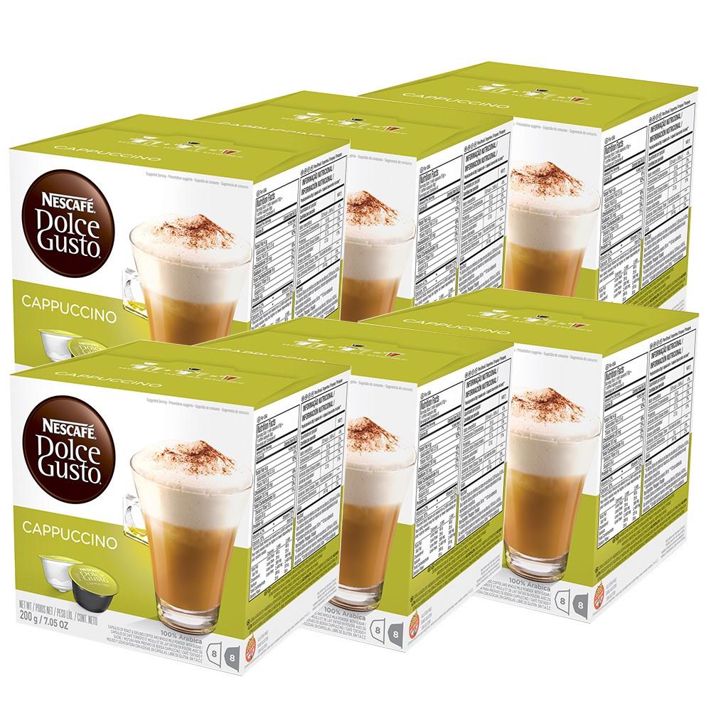 Kit 96 Cápsulas Nescafé Dolce Gusto Cappuccino - Nestlé