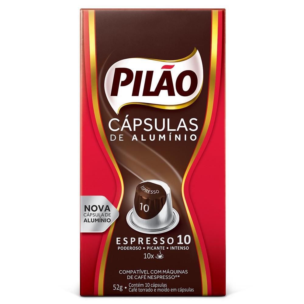 Cápsulas de Café Pilão Espresso 10 - Compatíveis com Nespresso® - 10 un.