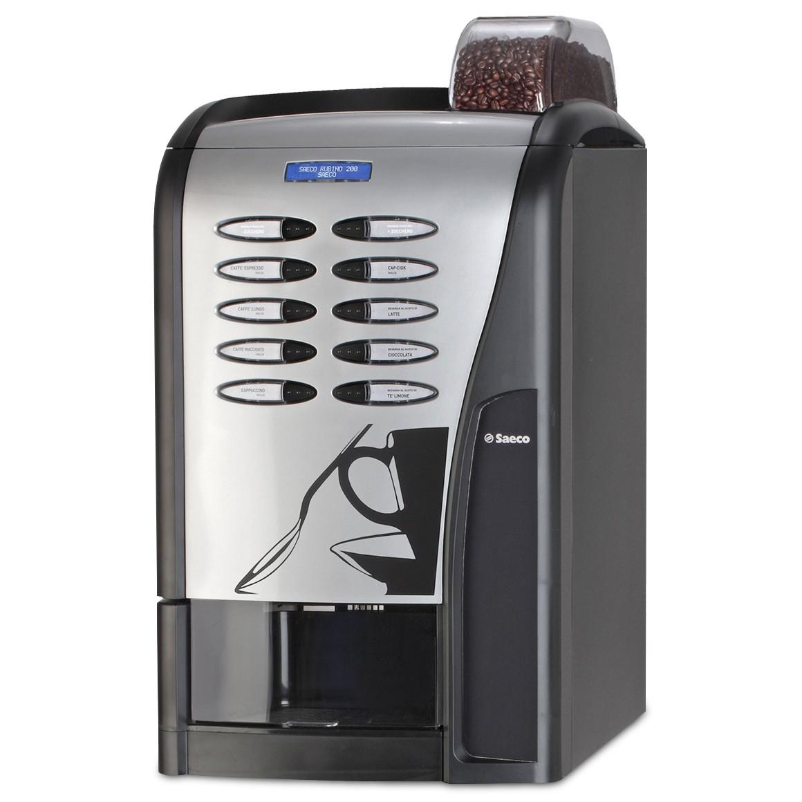 Máquina Vending Saeco Rubino 200 Espresso Preta