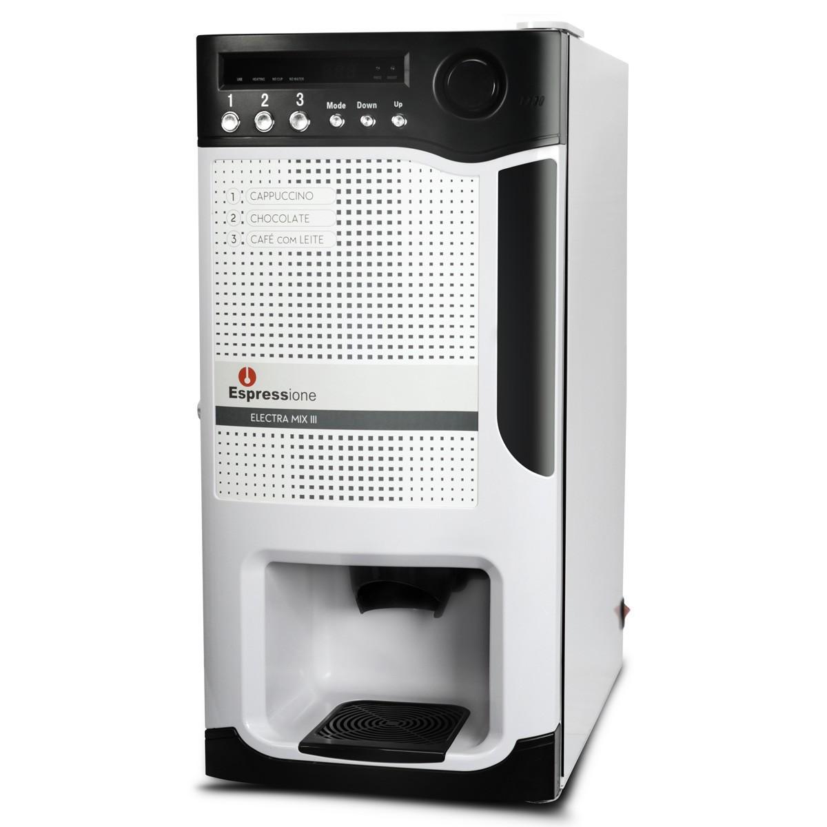 Máquina Electra Mix III Versão Solúvel Espressione Branca