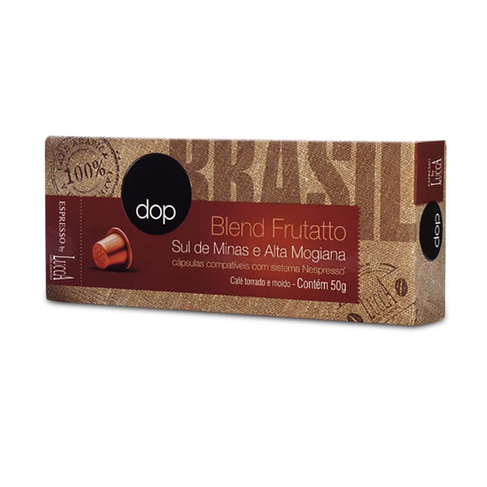 Cápsulas de Café Compatíveis com Nespresso Dop Blend Frutatto com 10 unidades