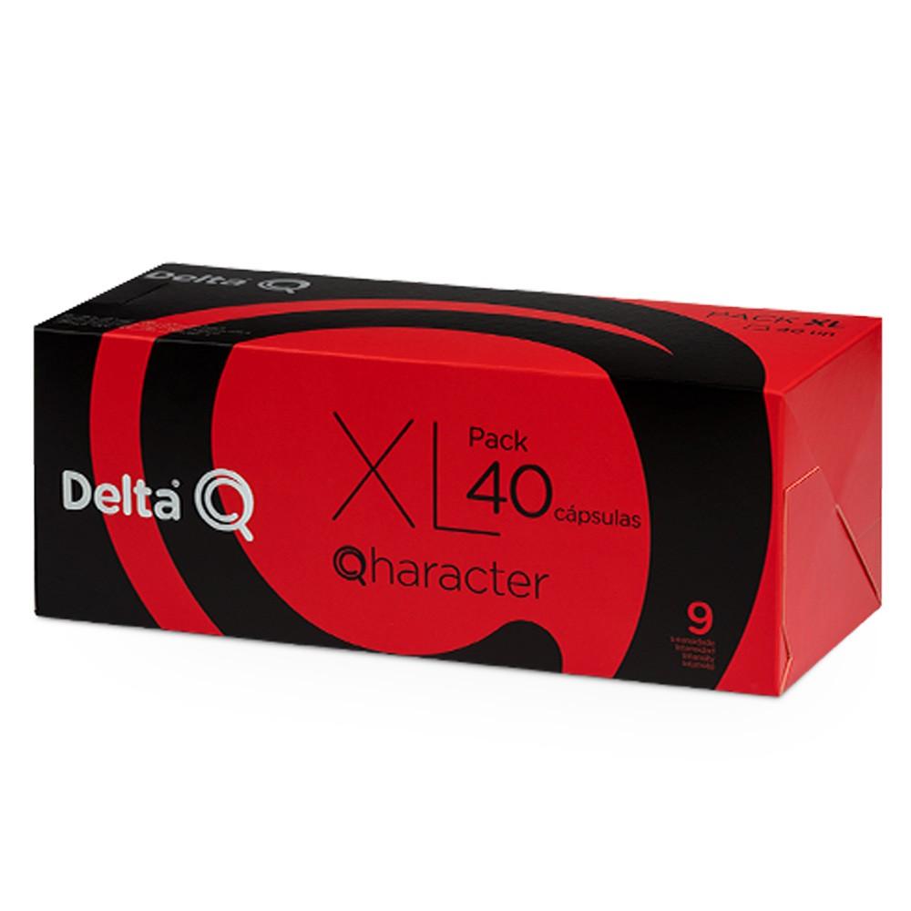 Pack XL Cápsulas Delta Q Qharacter - Intensidade 9 - 40 cápsulas