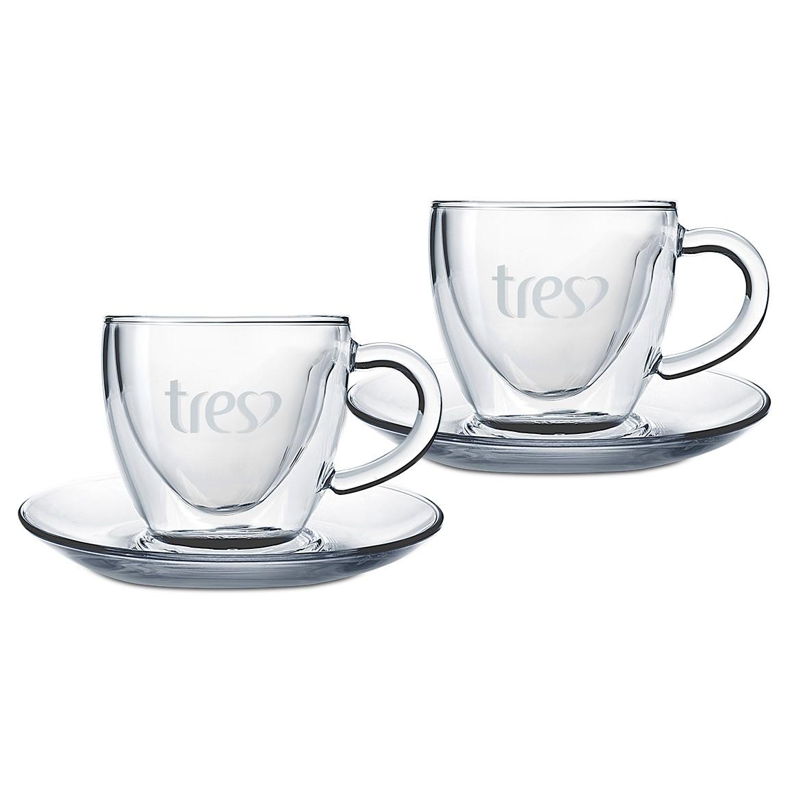 Conjunto de Xícaras para Café Três 50 ml - 2 un