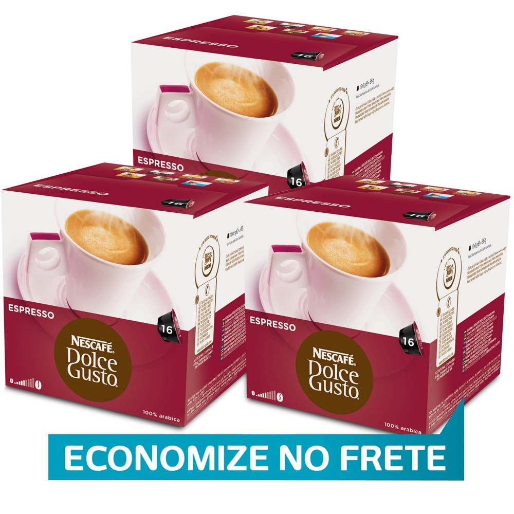 Kit 48 Cápsulas Nescafé Dolce Gusto Espresso - Nestlé