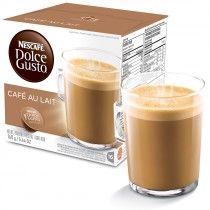 Cápsula Nescafé Dolce Gusto Au Lait 16 Cápsulas - Nestlé