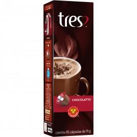 Cápsulas de Chocolate Quente 3 Corações - 10 un