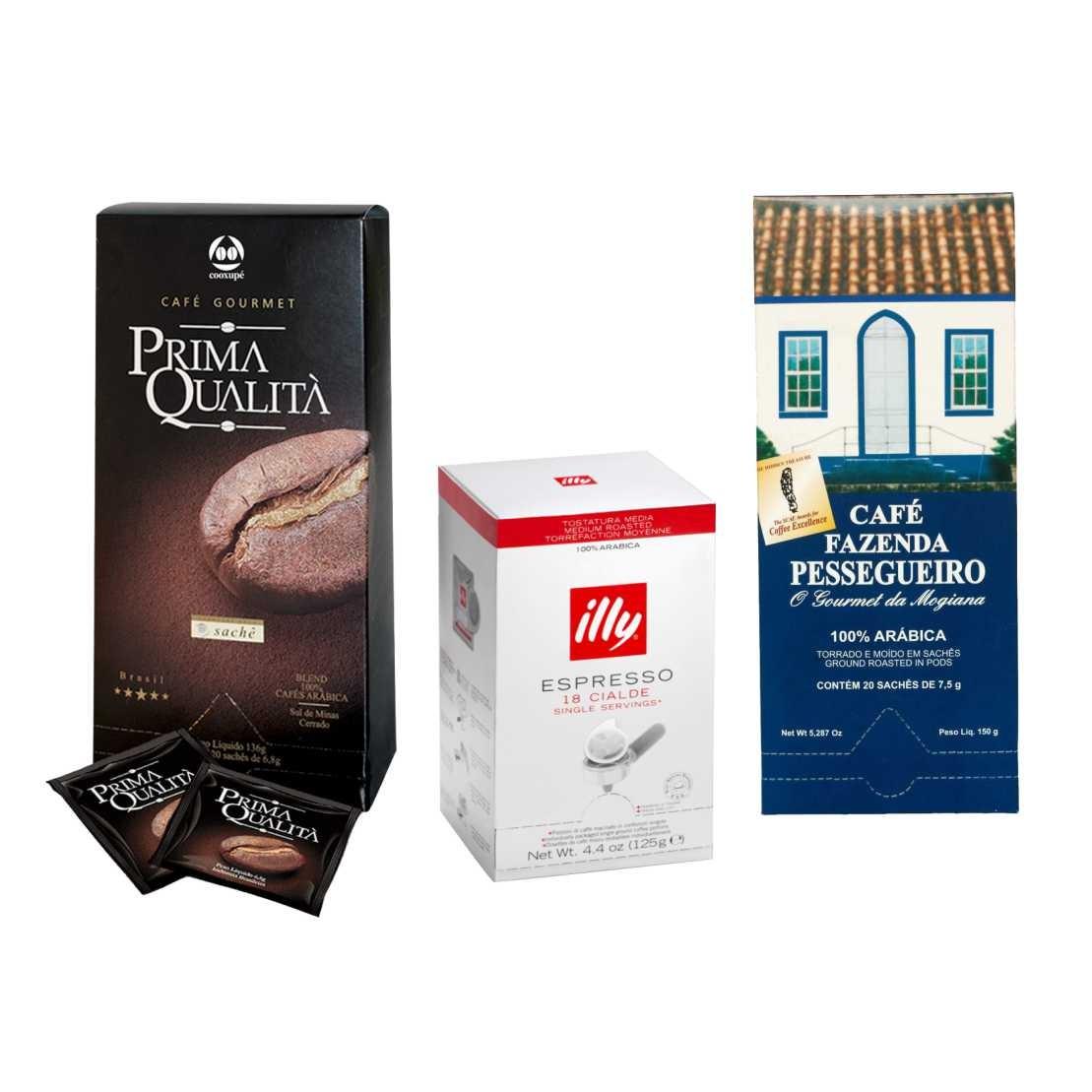 Kit Café em Sache E.S.E Degustação