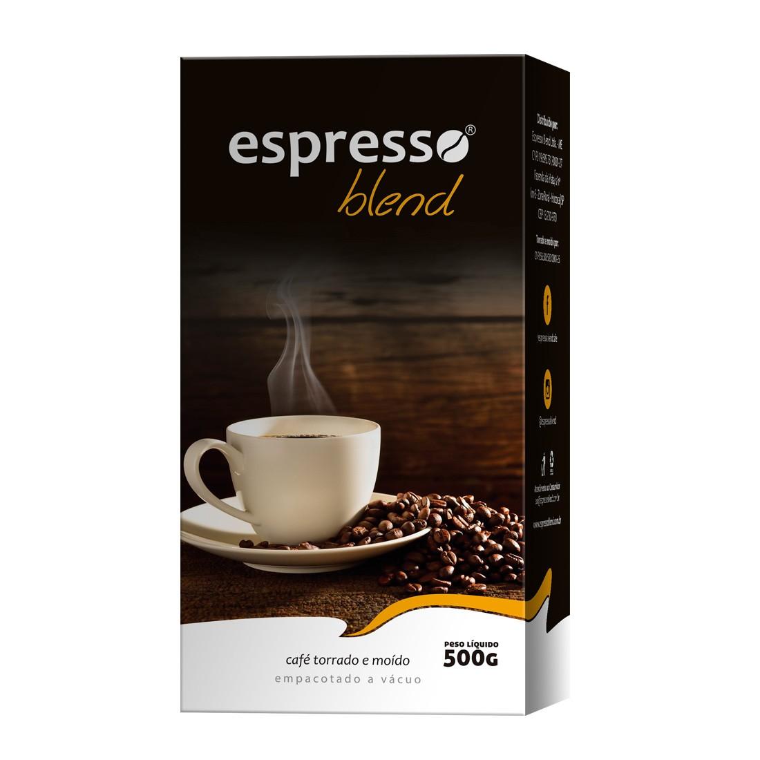 Café Torrado e Moído a Vácuo Espresso Blend 500g