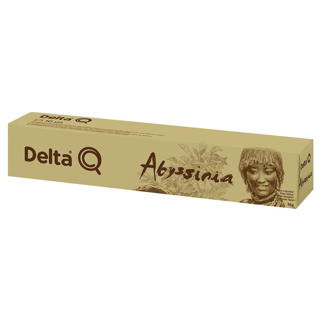 Cápsula de Café Delta Q Abyssinia - 10 Cápsulas