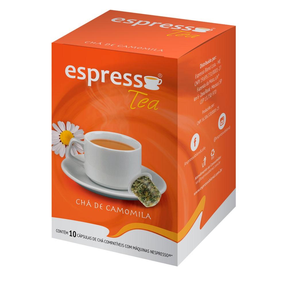 Cápsulas de Café Espresso Tea Camomila - Compatíveis com Nespresso® - 10 un.