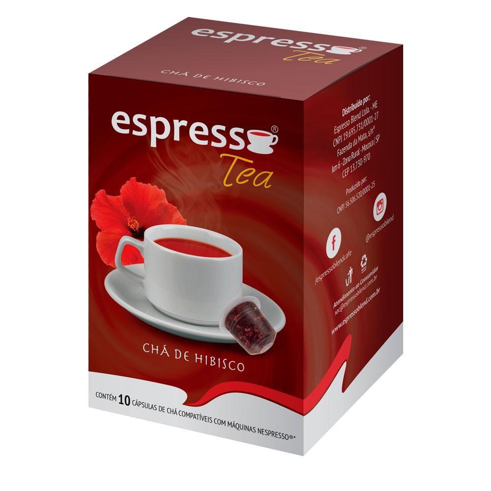 Cápsulas de Café Espresso Tea Hibisco - Compatíveis com Nespresso® - 10 un.