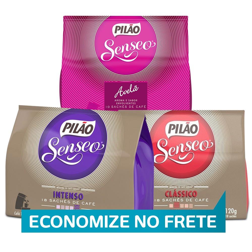 Kit Sachê Soft Senseo Pilão