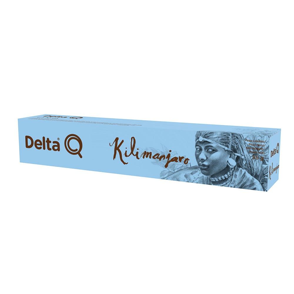 Cápsula de Café Delta Q Kilimanjaro - 10 Cápsulas