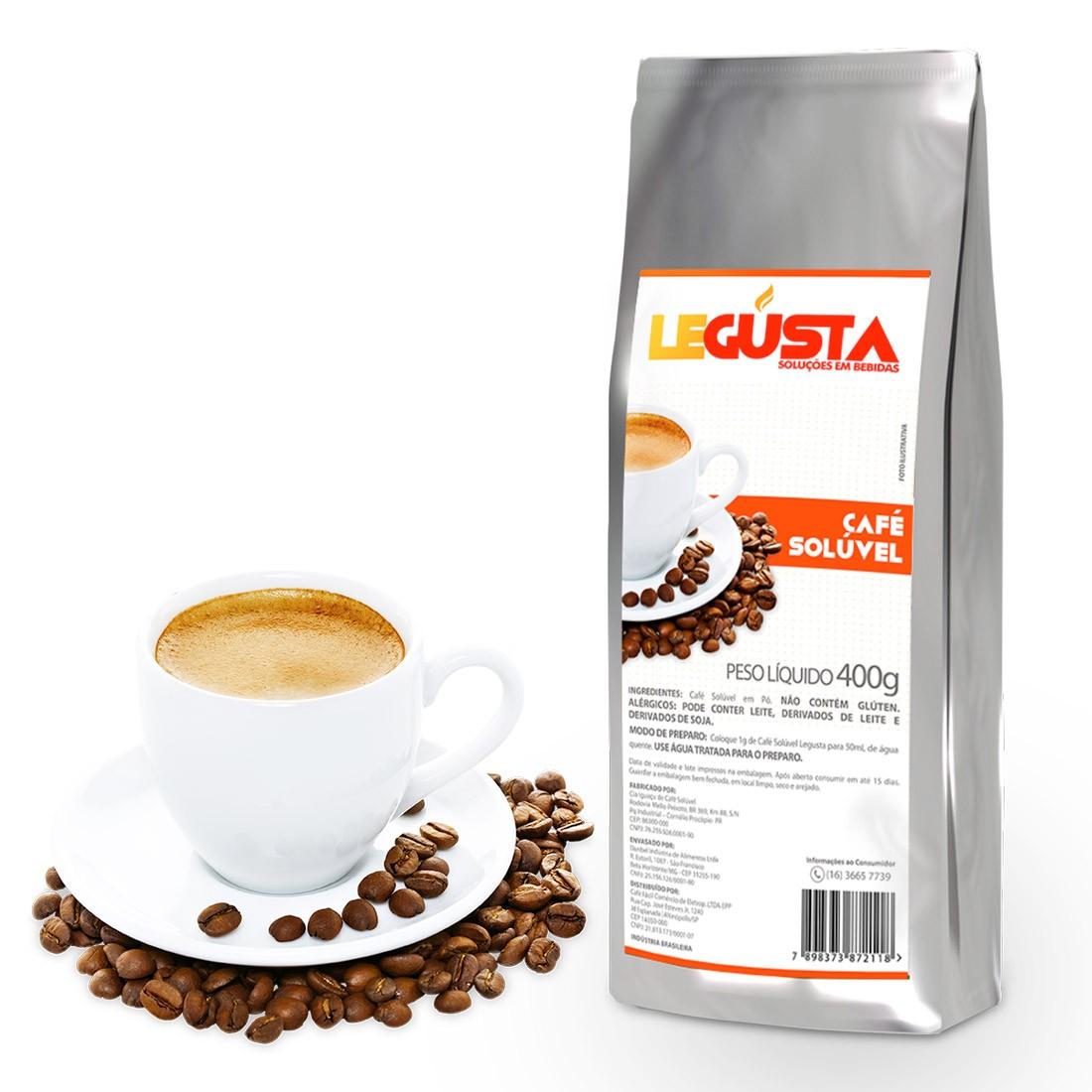Café Solúvel Legusta 400g