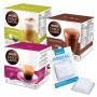 Kit 48 Cápsulas Nescafé Dolce Gusto Nestlé ll + Descalcificante para Cafeteiras de Cápsulas - 12gr